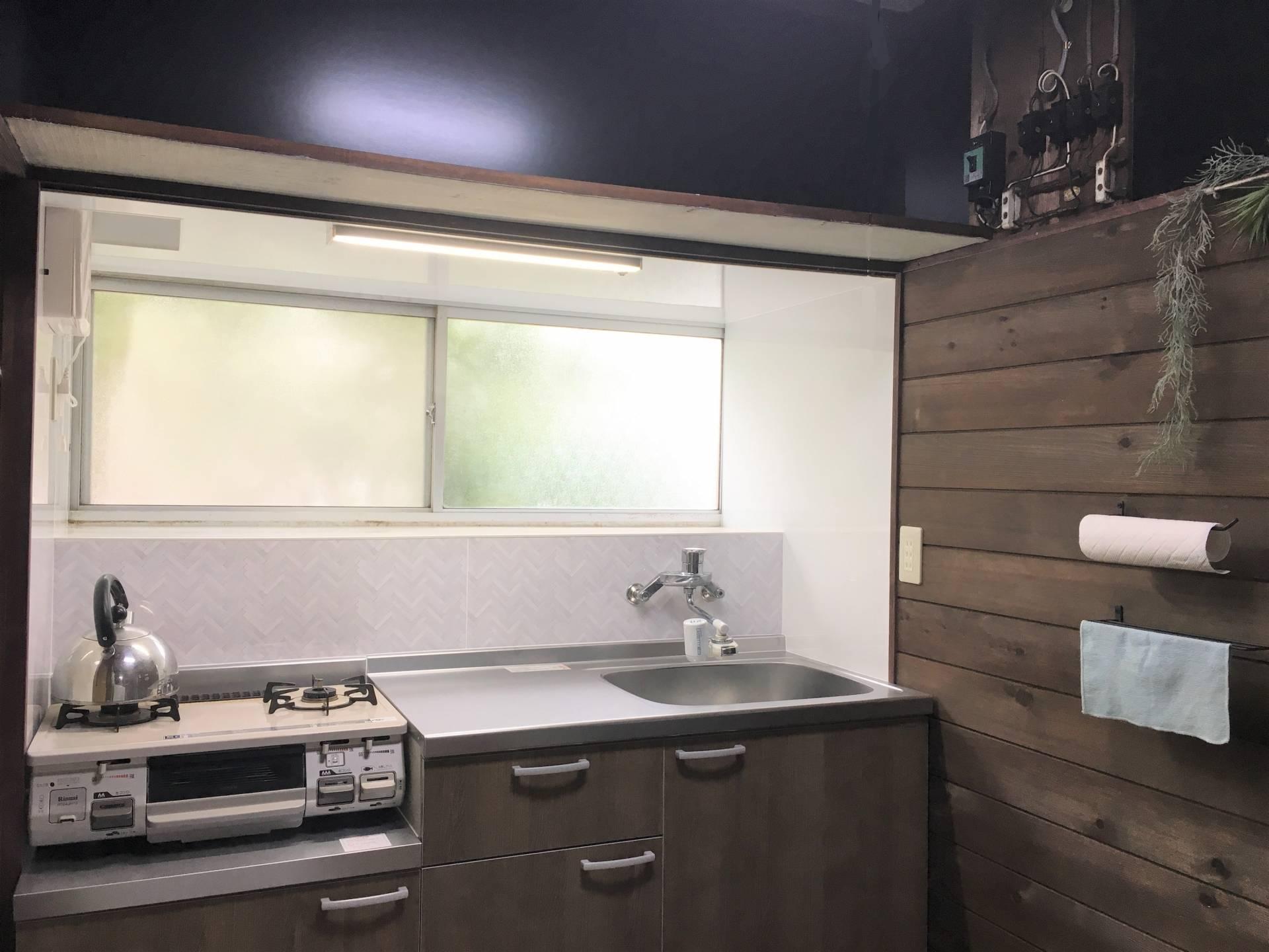 男性がお料理を楽しめるキッチン × 平塚市