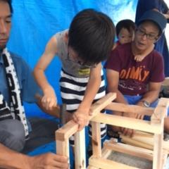 夏の親子木工教室!2016