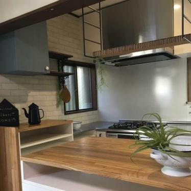 家事がはかどる回遊できるキッチン × 平塚市