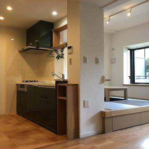 施工例、湘南平塚アルベリアールホームのリフォーム、リノベーション、マンションも戸建ても、トイレキッチンお風呂など